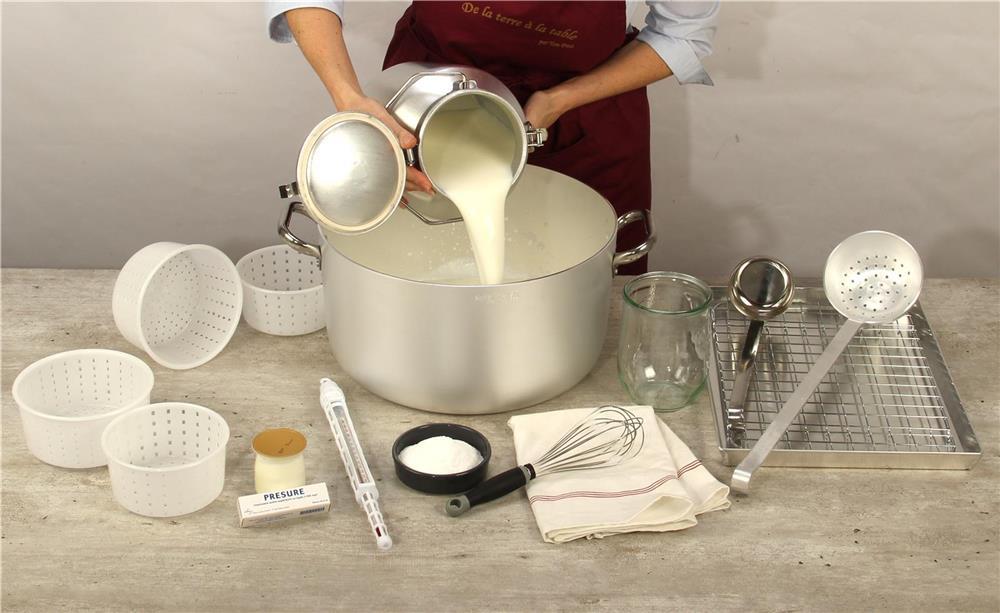 Faire du fromage dans sa cuisine  Tom Press