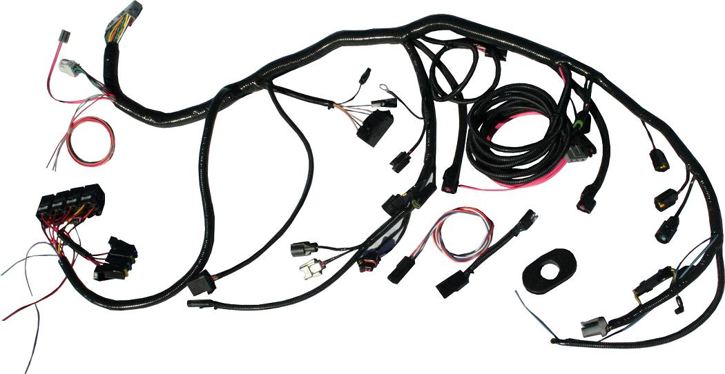 5.0L EFI Fuel Injection Wiring Harness for 66-77 Ford