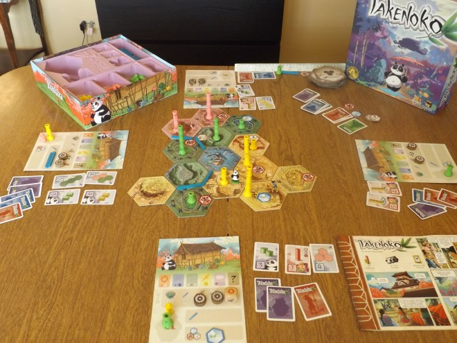 Takenoko In Progress
