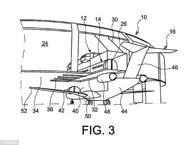 Airbus brevète une cabine d'avion amovible