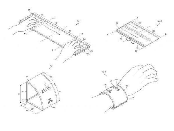 Galaxy Wing : les smartphones flexibles de Samsung
