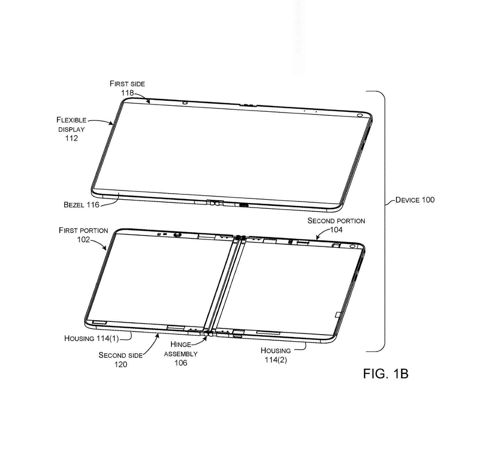 Un nouveau brevet Microsoft parle du Surface Phone pliable