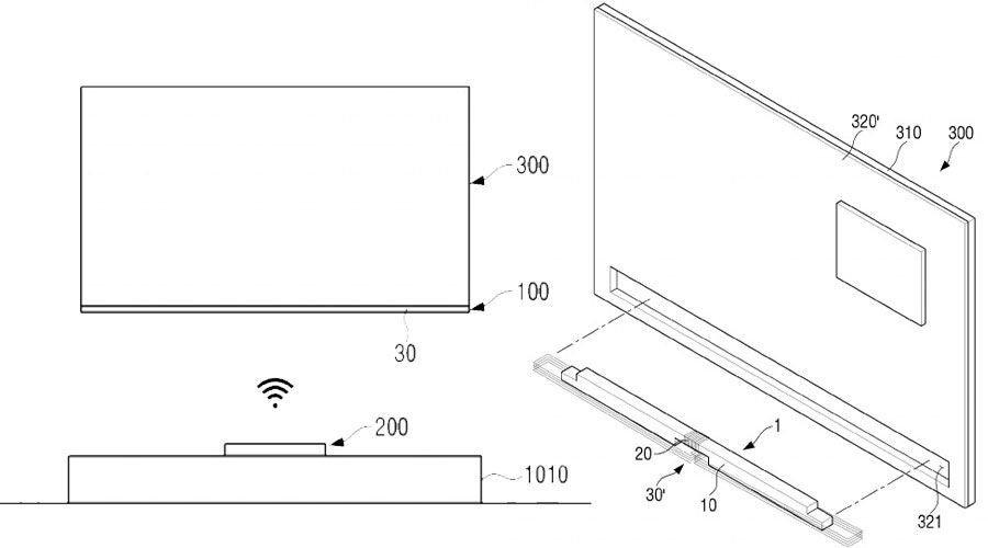 Samsung imagine un téléviseur sans câble