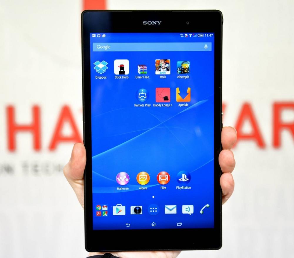 Recensione Xperia Z3 Compact Tablet per lavorare e