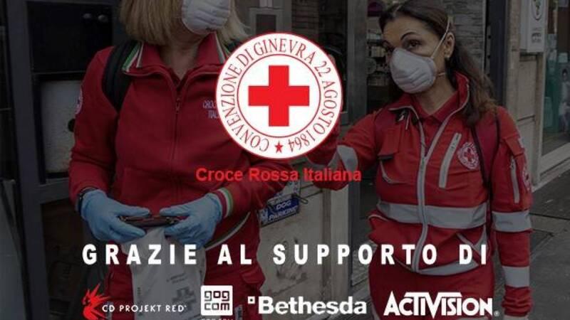La Gaming Industry raccoglie 30 mila euro per la Croce Rossa