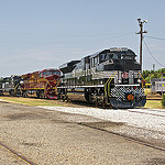 "The NS ""Heritage"" show at Spencer, NC."