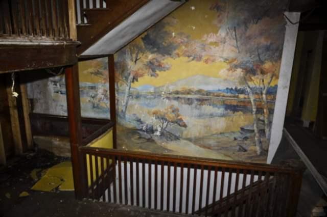 LaMont Adelbert Warner Mural