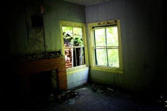 Living Room Fireplace - Tahawus, New York