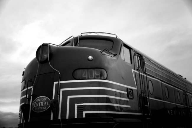 New York Central System 4097 (Black And White Edit)