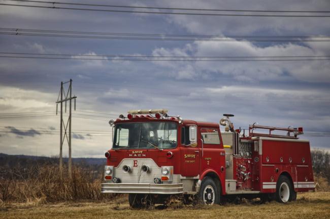 Savoy Fire Department Engine 2