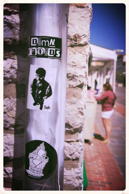 Stickers On The Street (Edit)