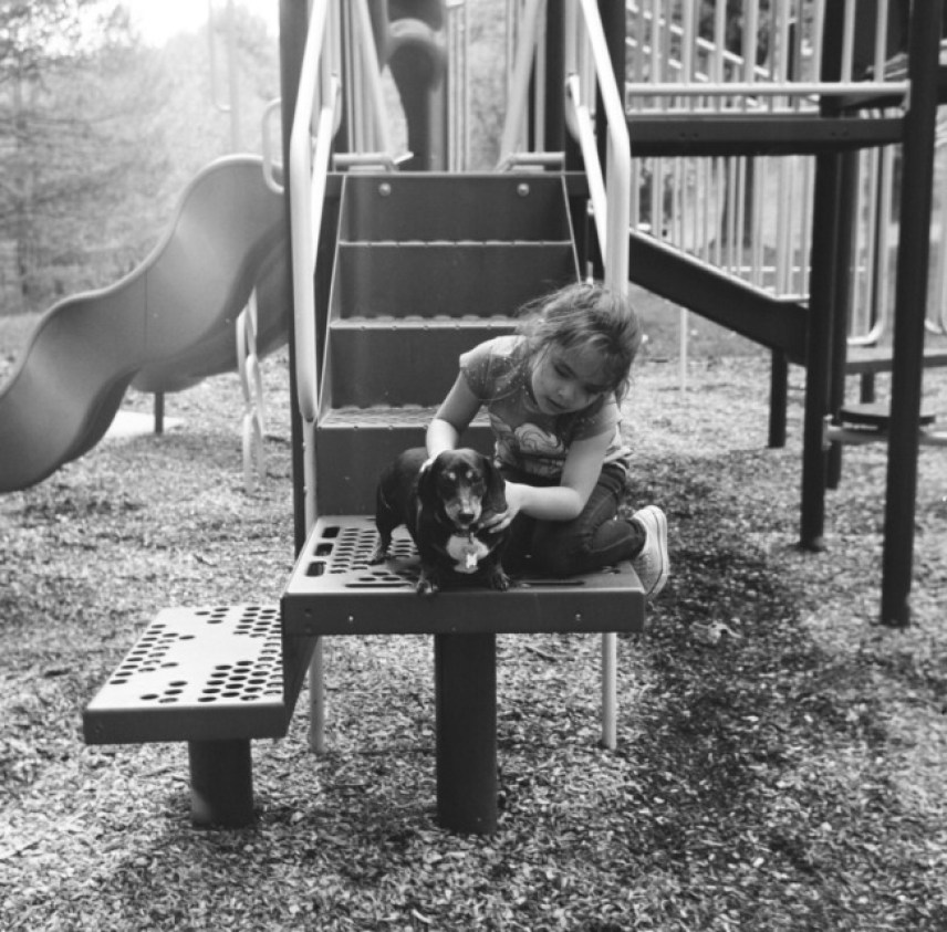 Best Buddies, Kodak T-Max, ISO 100, 120 MM TLR, Mine Kill State Park, Gilboa, NY