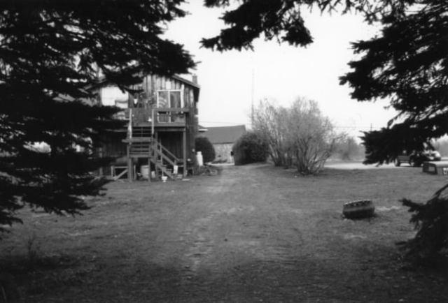 The Old Apartment, Ilford Pan 4, ISO 50, Canon AE-1, 50 MM Lens, Chazy, NY