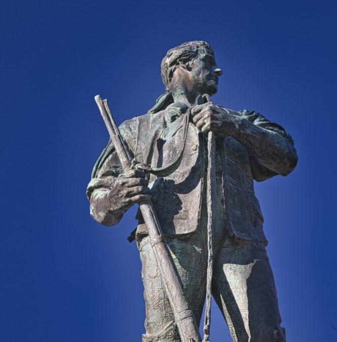 The Green Mountain Boys Statue