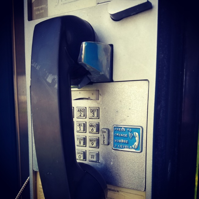 You Can Call Me On My Pay Phone