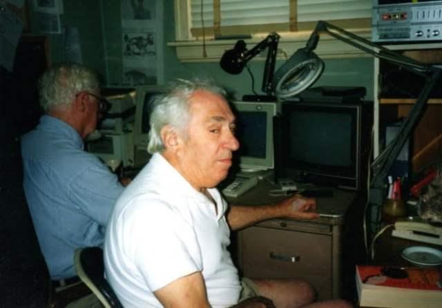 Arthur Covert and Harvey Slatin