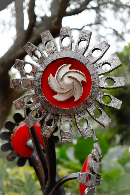 Metallic Sunflower