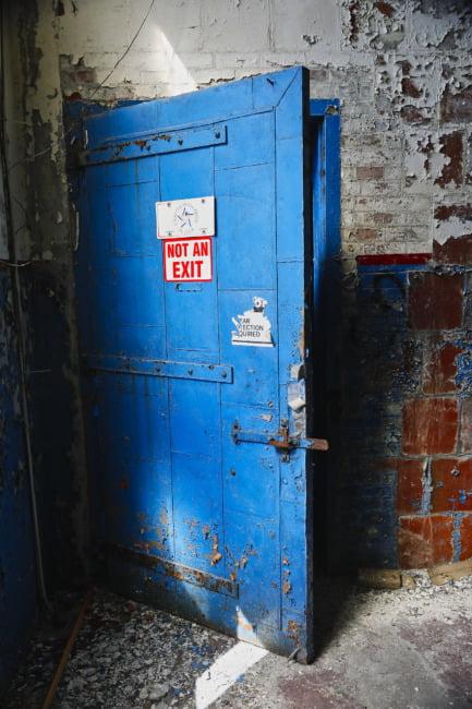 The Big Blue Door