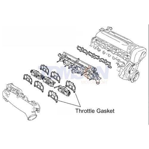Cometic IR457032AFM throttle body gasket Nissan Skyline