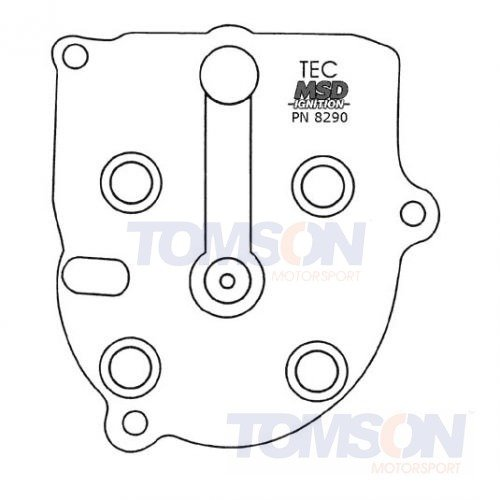 Modified Distributor Cap and Rotor for Honda Civic/CRX 88