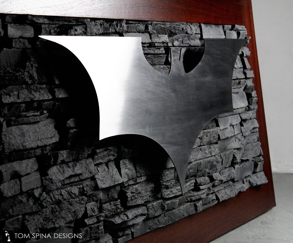 Superhero Desk Themed Reception At Oral Surgeon Office