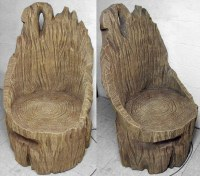 Tree Throne Custom Sculpted Chair - Tom Spina Designs ...
