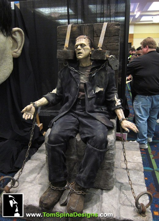 Monsterpalooza Trade Show and Convention 2011  Tom Spina Designs  Tom Spina Designs