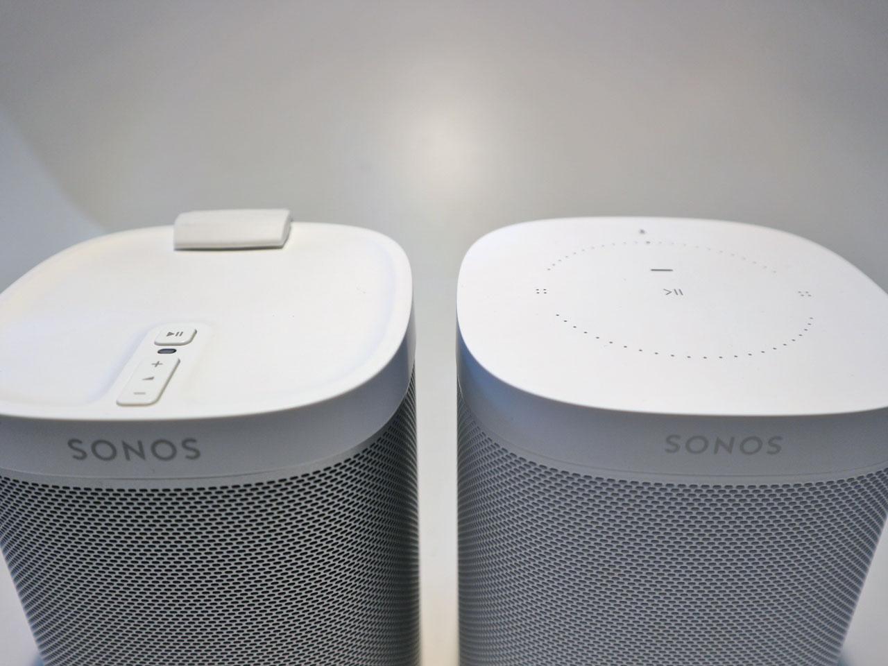 Sonos One und Sonos Play:1 - Bedienelemente