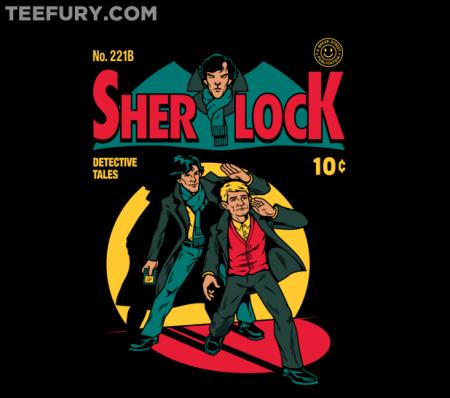 Sherlock Holmes Comic T-Shirt