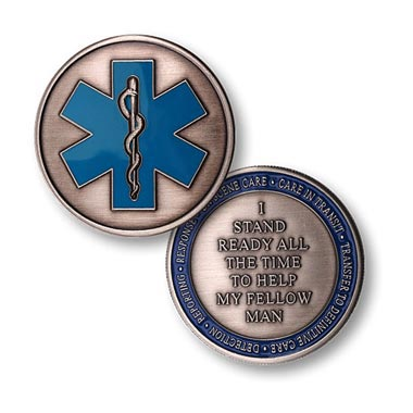 EMS Challenge Coin