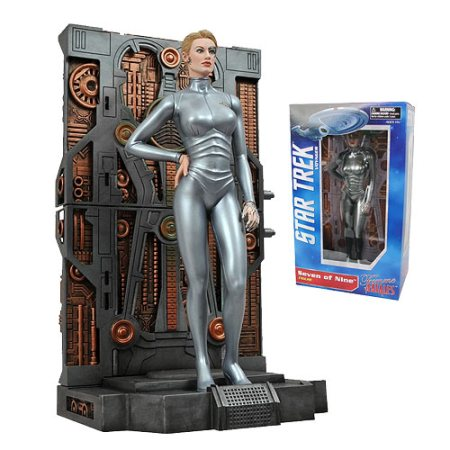 Star Trek Fans, Seven of Nine Statue on sale today only! $24