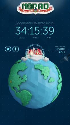 Santa Tracker iOS