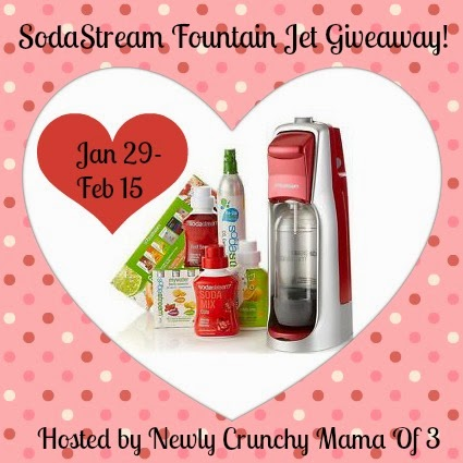 SodaStream Fountain Jet Kit Giveaway