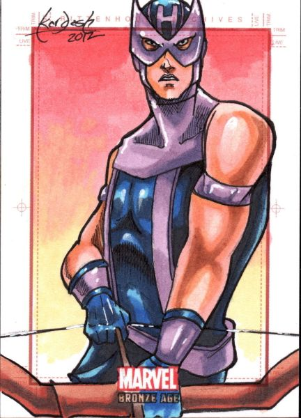 Art Card of Hawkeye