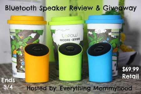 Wireless speaker giveaway