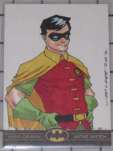 Sketch Card of Robin
