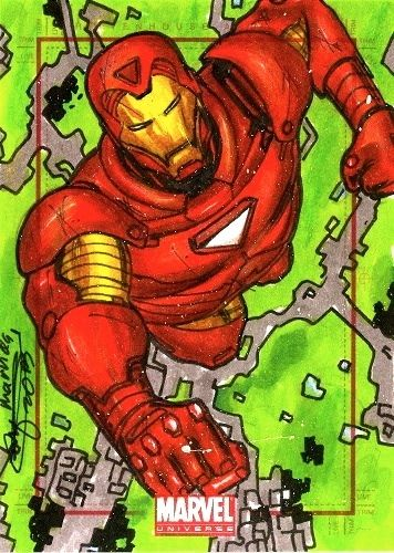 Mark Marvida Iron Man