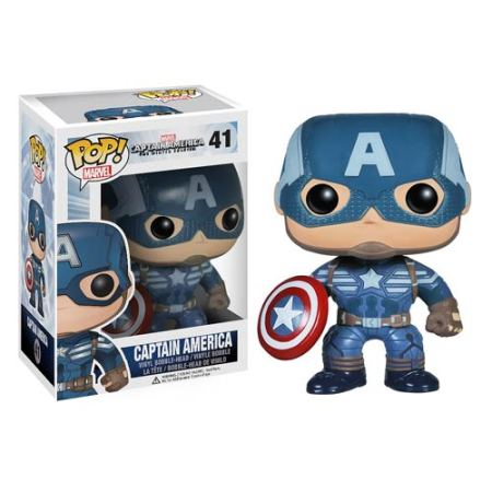 Captain America 2 Movie Pop! Heroes Vinyl Bobble Head Figures On Sale!