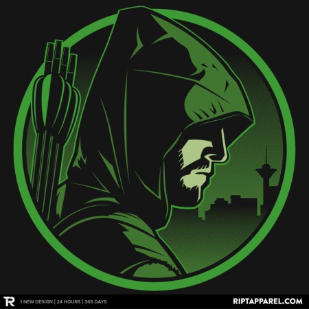 "Arrow Fans ""I will not fail this city"" T-shirt selling only today!"