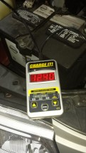 Clore CT7 CHARGE IT! Gray 12-Volt Digital Battery and System Tester