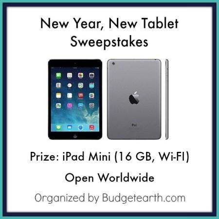 Giveaway, Win, Sweepstakes, Tablet, Tech, Gadget, iPad, iPad Mini
