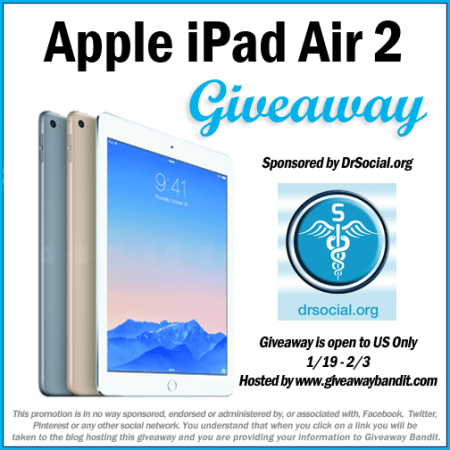 ipad air 2 giveaway #win #giveaway #sweepstakes #tablet