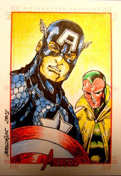 Captain America by Dan Borgonos