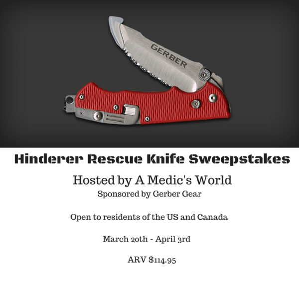 Rescue Knife Sweepstakes