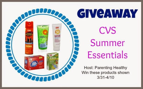 CVS Summer Essentials package giveaway