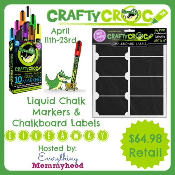 Labels and Markers Giveaway