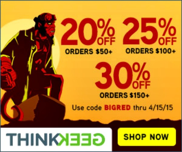 Thinkgeek promotion