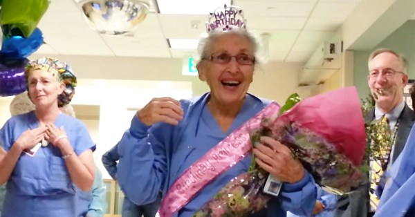 Nurse celebrates 90th Birthday
