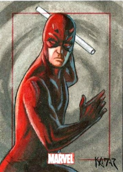 Sketch Card Artist of the Day 6/30/15 – Artist Frank Kadar @marvel @FrankAKadar