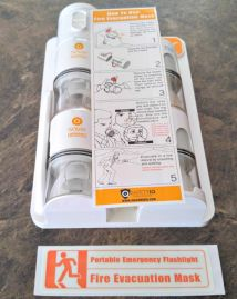Be Prepared in a Fire - Saver Emergency Breath System Review #review #firesafety #family #emergencypreparedness
